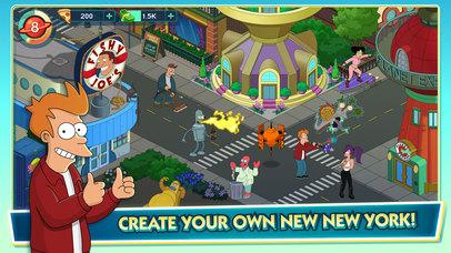 Futurama: Worlds of Tomorrow screenshot 1