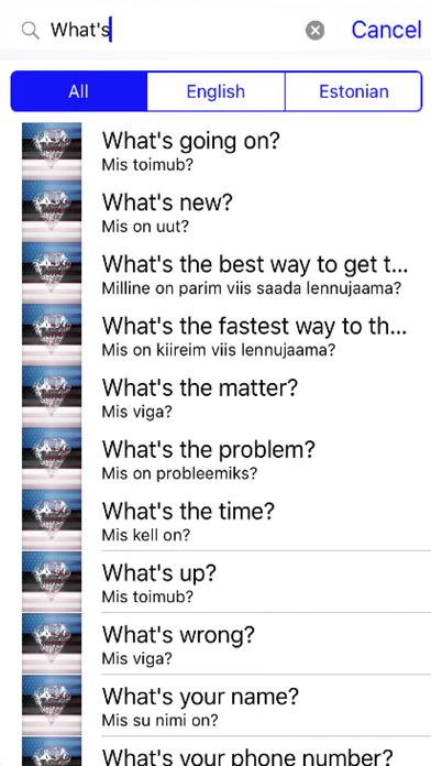 Estonian Phrases Diamond 4K Edition screenshot 2
