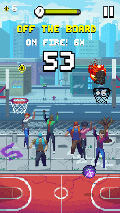 Bouncy Hoops screenshot 1