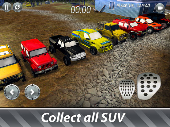 SUV Offroad Rally Full screenshot 6