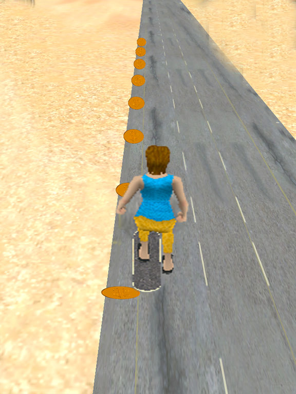 Skating run 3D screenshot 8