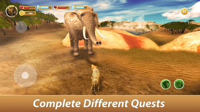 Leopard Family Simulator Full screenshot 4