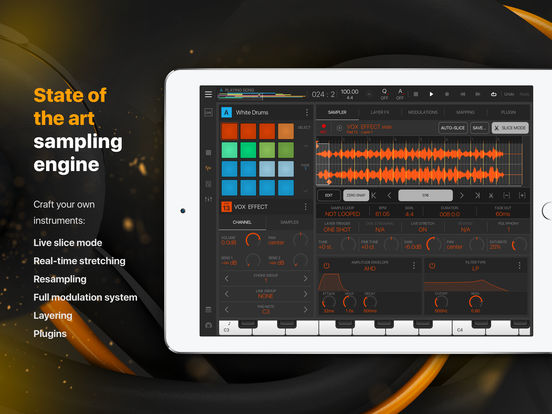 BeatMaker 3 screenshot 2