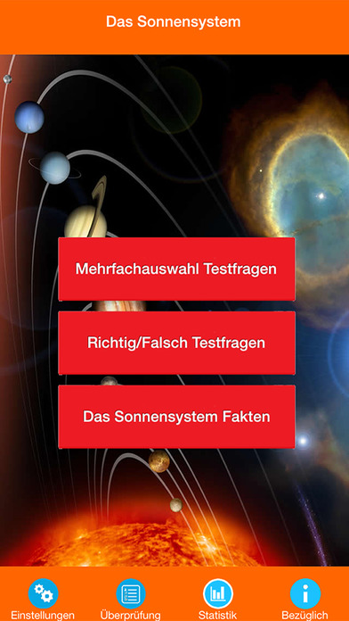 Das Sonnensystem Quiz screenshot 1