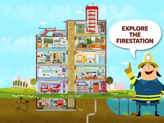 Little Fire Station For Kids screenshot 7