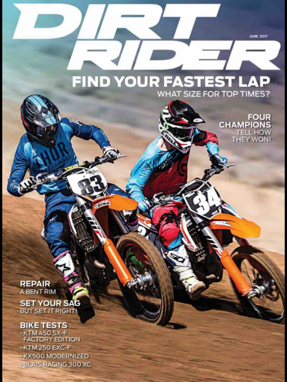 Dirt Rider Magazine screenshot 6