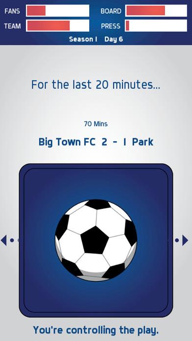 Swipe Manager: Soccer screenshot 2