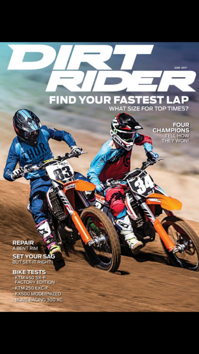 Dirt Rider Magazine screenshot 1