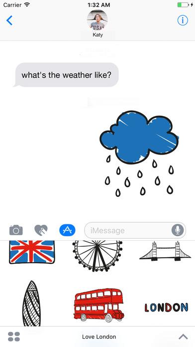 I love London Stickerpack screenshot 1