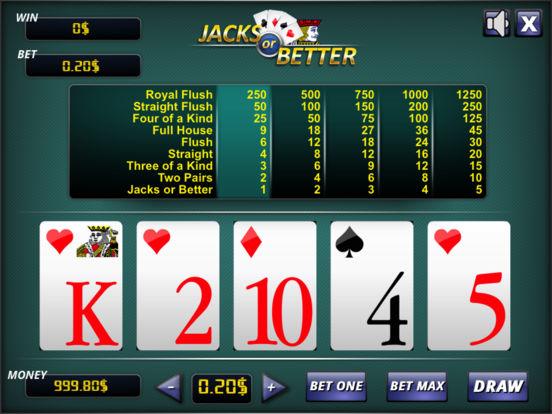 Jacks or Better ® screenshot 4