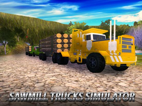 Sawmill Trucks Simulator Full screenshot 5