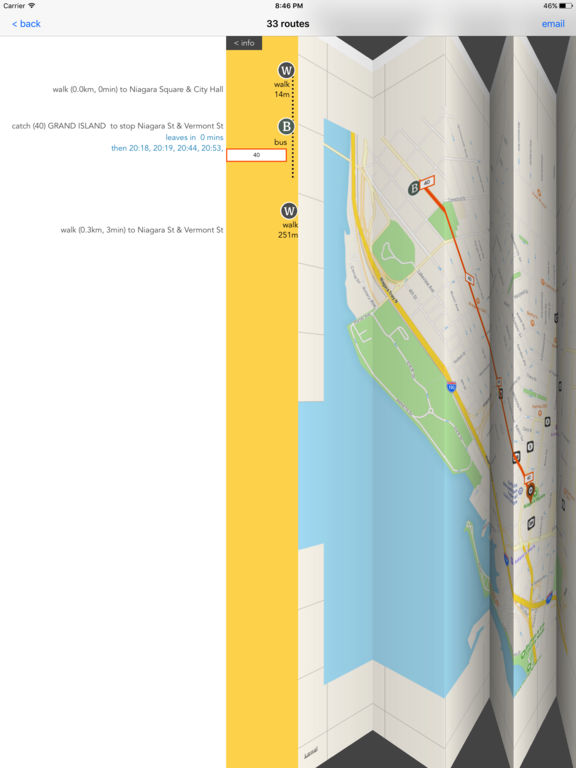 Dallas Public Transport Guide screenshot 7
