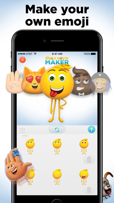 The Emoji Movie Maker screenshot 2