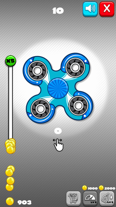 Fidget Spinner: Revolution screenshot 2