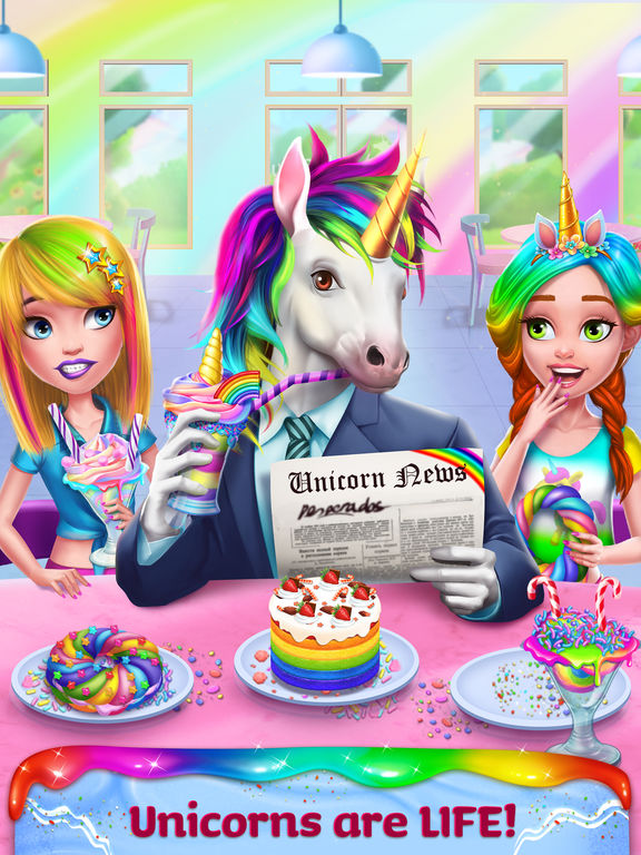 Unicorn Food Style Maker screenshot 6