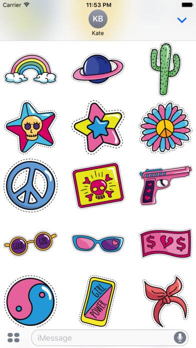 Fancy Pack - 90+ Beautiful Stickers screenshot 5