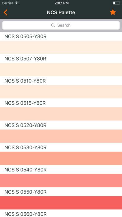 Ncs color chart. 3D fan deck screenshot 1