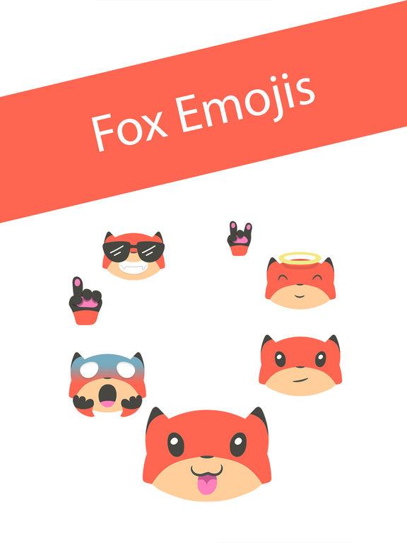 Fox Emojis screenshot 6
