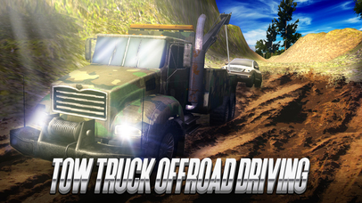 Tow Truck Offroad Driving Full screenshot 1