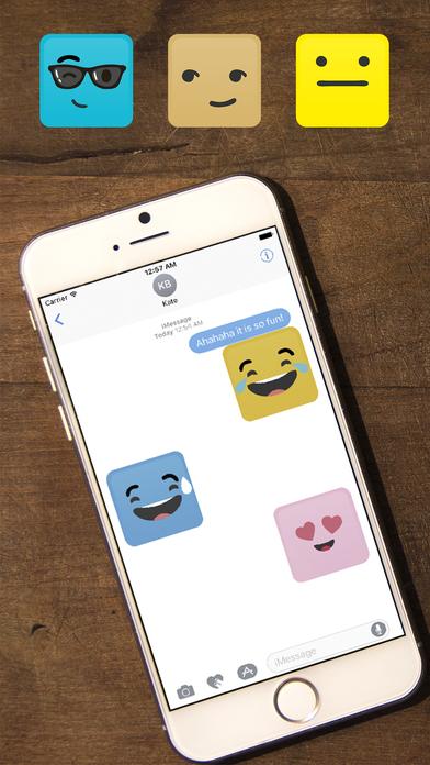 Smile Me Sticker pack screenshot 2