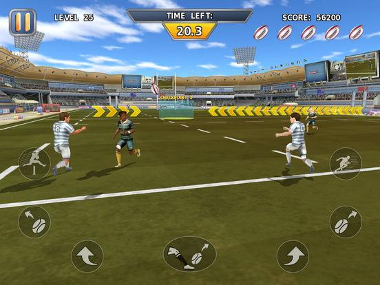 Rugby: Hard Runner screenshot 8