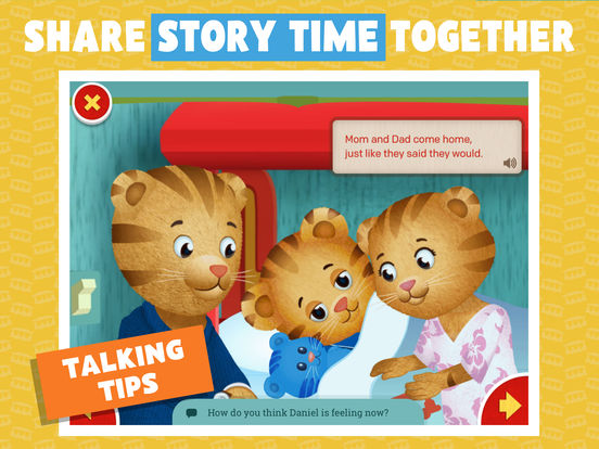 Daniel Tiger's Storybooks screenshot 9