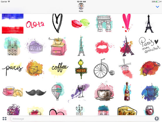 I love Paris Stickerpack - Paris mon amour screenshot 3