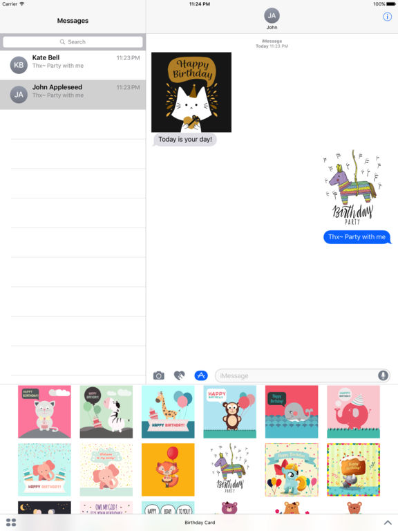 Birthday Card - Best Wishes with Cute Animals screenshot 7