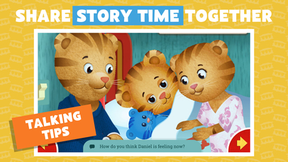 Daniel Tiger's Storybooks screenshot 4