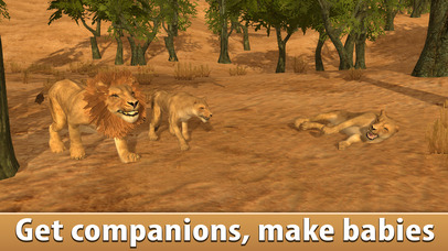 Lion Simulator: Wild African Animal screenshot 1