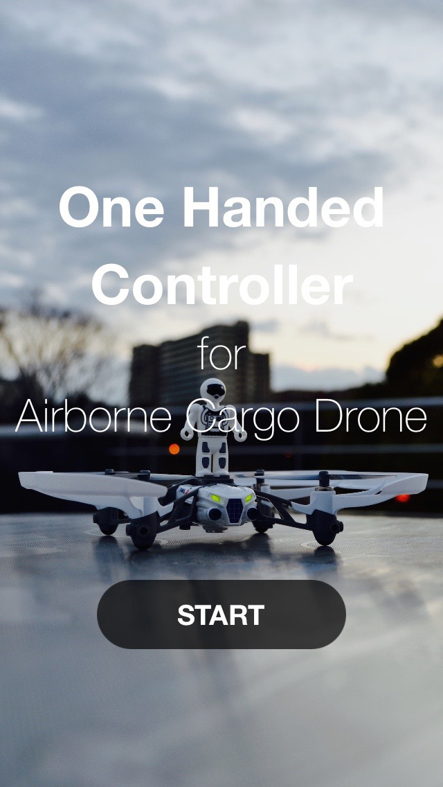 One Handed Controller for Airborne Cargo Drone screenshot 1