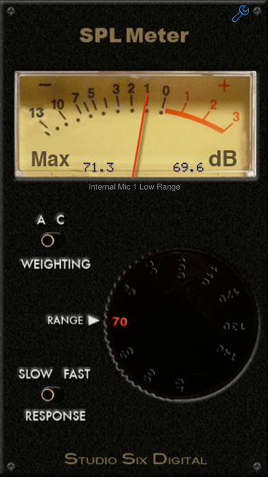 iphone decibel meter spl meter on the app 11790
