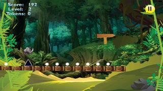 A Platform Animal Jump - Rino Jumping To Avoid Sharp Obstacles screenshot 5