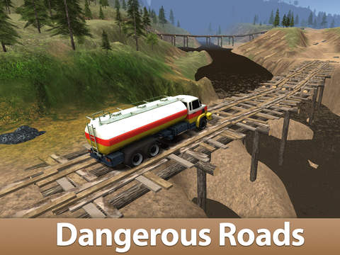 Oil Truck Simulator 3D Full - Offroad tank truck driving screenshot 5