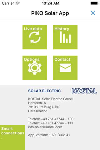 KOSTAL - PIKO Solar App - náhled