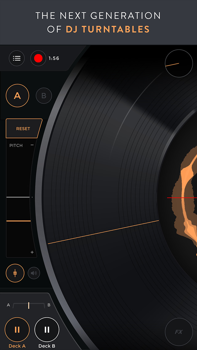 Mixfader dj app screenshot 1