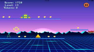 Arcade Wars Dash - Computer Robot Cube Jump screenshot 2