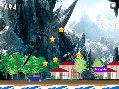 A Jumping Of Forest Clan X Pro - Jump Dark Messenger Ninja screenshot 8