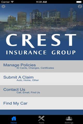 Crest Insurance - náhled