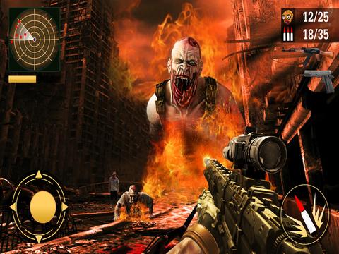 Zombie Tsunami Diary: Z war Sniper smasher screenshot 9