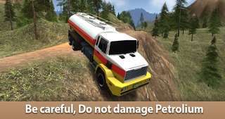 Oil Truck Simulator 3D - Offroad tank truck driving screenshot 1