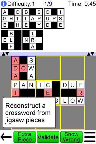 Jigsaw Crossword + - náhled