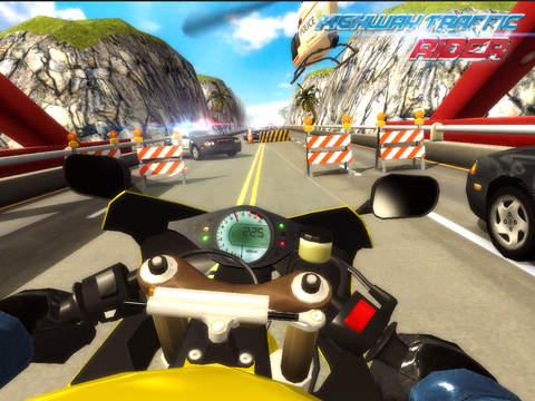 Highway Traffic Rider 3D screenshot 8
