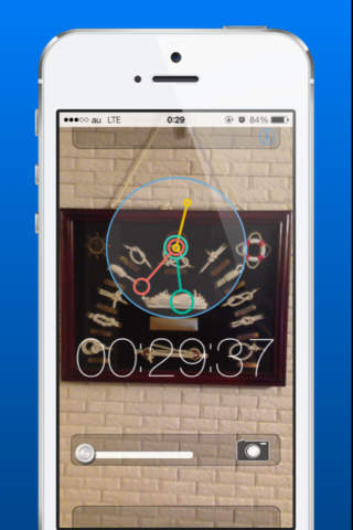 Transparent Clock - náhled