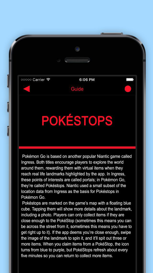 Guide & Tricks for Pokémon GO screenshot 5