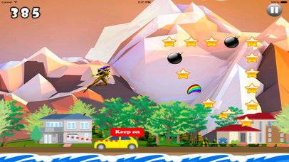 A Fantastic In Funny Jumps PRO - Girl Jumping Game screenshot 2