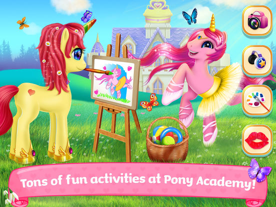 Pony Horse Princess Academy screenshot 10