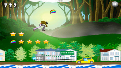A Jump Of Fire Dash Pro - Amazing Jumps screenshot 4