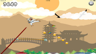 Teenage Karateka Run - Fun Jump Mobile screenshot 5