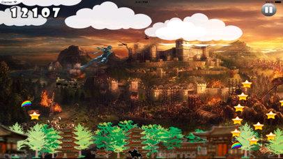Clan Dark Jumping - Samurai Adventure Game screenshot 4